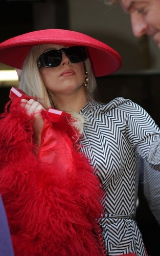 Lady Gaga Out in New York City Oct. 9