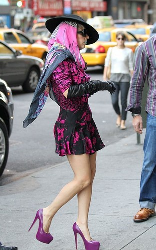 Lady gaga in NYC Oct. 8