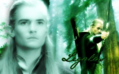 Legolas Greenleaf wallpaper with a portrait called Legolas f...hot