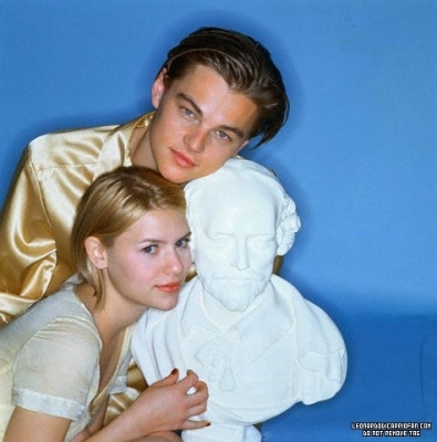 Leonardo DiCaprio wallpaper possibly with a portrait entitled Leo & Claire danes Photoshoot