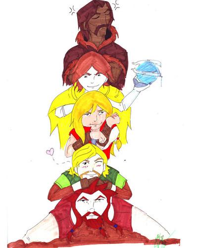 Loki & friends