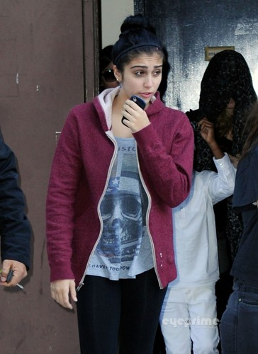 Lourdes Leon Attends Services On Yom Kippur in NY, Oct 8