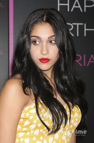 Lourdes Ciccone Leon wallpaper possibly with a portrait called Lourdes Leon Celebrates Material Girl's 1st Birthday in NY, Sep 20