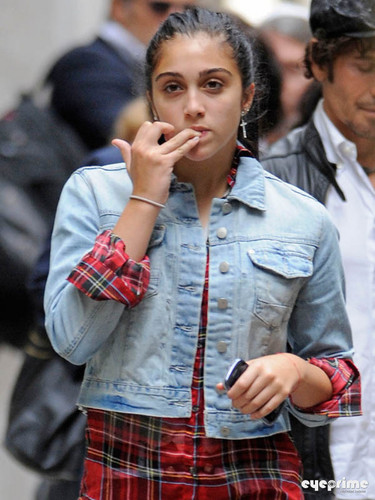 Lourdes Leon seen leaving the Kabbalah Center in New York, Sep 30