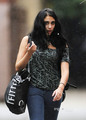 Lourdes Maria Ciccone Leon Out and About in The Rain in NY, Sep 23