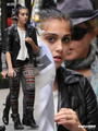 Lourdes and Madonna out in Manhattan, Oct 1 - lourdes-ciccone-leon photo