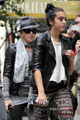 Lourdes and Madonna out in Manhattan, Oct 1