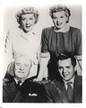 Lucy & Ethel with their husbands - lucy-ricardo-and-ethel-mertz photo