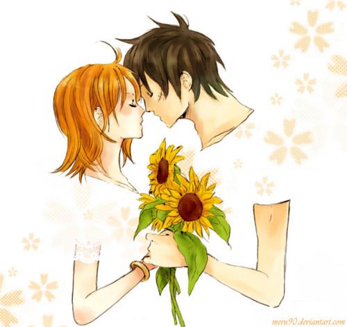 Luffy x Nami