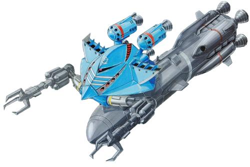 Gundam দেওয়ালপত্র called MA-05R Big Roof