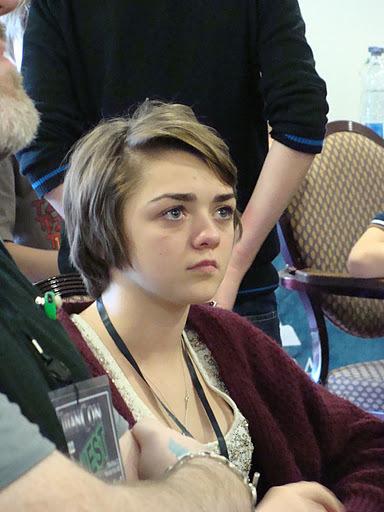 Maisie at TitanCon