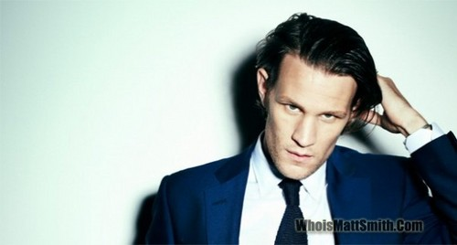 Matt Smith 壁纸 with a business suit and a suit titled Matt♥