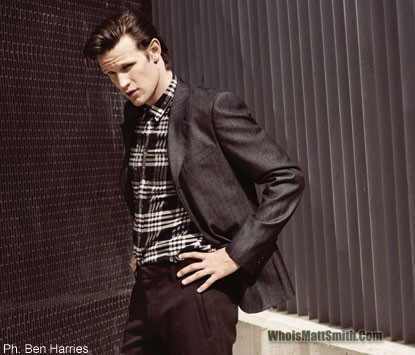 Matt Smith 壁纸 with a business suit, a well dressed person, and a suit titled Matt♥