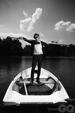 Matt Smith 壁纸 probably containing a racing boat, a rowing boat, and a 筏 entitled Matt♥
