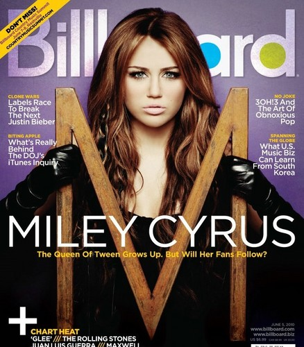 Miley (Cyrus) On Billiboard!!