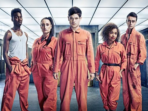 Misfits - Season 3 - Cast Promotional foto