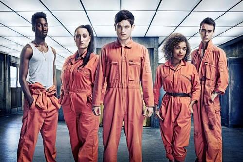 Misfits - Season 3 - Cast Promotional चित्रो