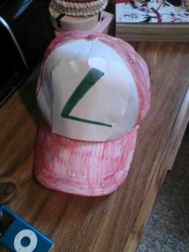My Fail at a Ash Ketchum Hat