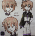 My OC denio Reyun_by me - mirafabia fan art