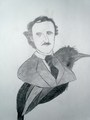 My drawing of Edgar Allan Poe - edgar-allan-poe fan art