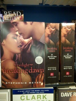 New 'Breaking Dawn' Book Cover
