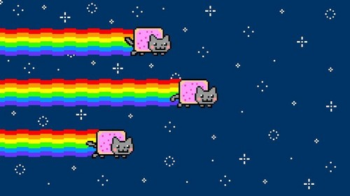Nyan Cat wallpaper titled Nyan Cat wallpaper