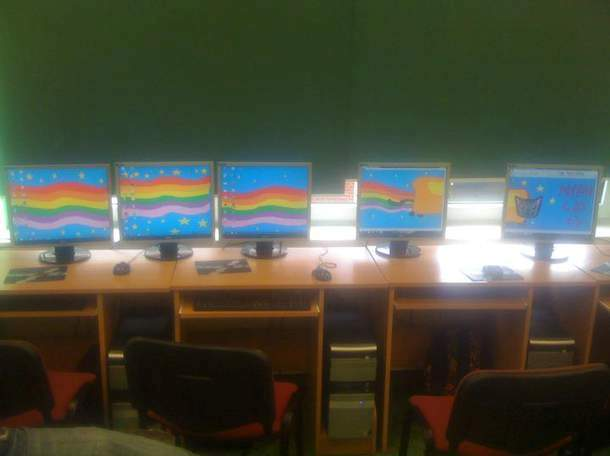 Nyan Cat on computers