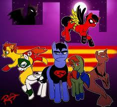 Young Justice wallpaper with anime called OMG! IT'S FLIPPING PONIES!!!