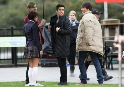 October 11, 2011 - On Set of Big Time Movie