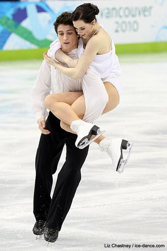 Tessa Virtue & Scott Moir wallpaper called Olympics 2010 FD