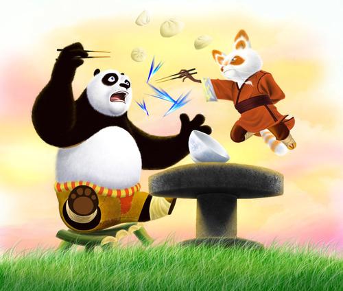 Po and Shifu