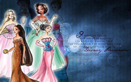 Princesses ~ ♥ - disney-princess Wallpaper