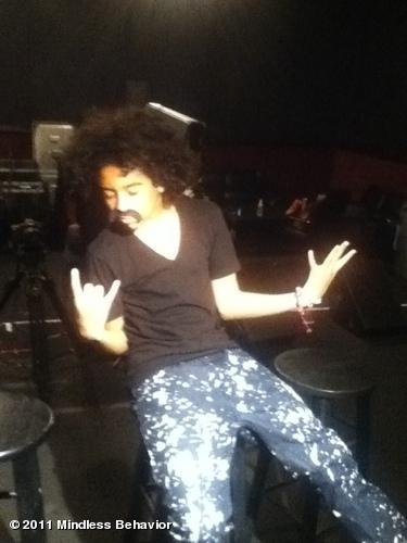 Princeton Rockin that Mustache... Fernando