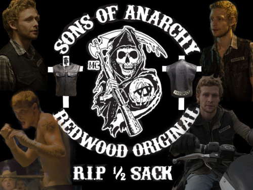 Sons Of Anarchy wallpaper called R.I.P. 1/2 Sack