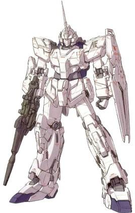 Gundam দেওয়ালপত্র called RX-0 Unicorn Gundam (Unicorn Mode)