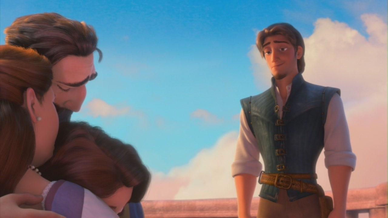 """Rapunzel & Flynn in """"Tangled"""""""