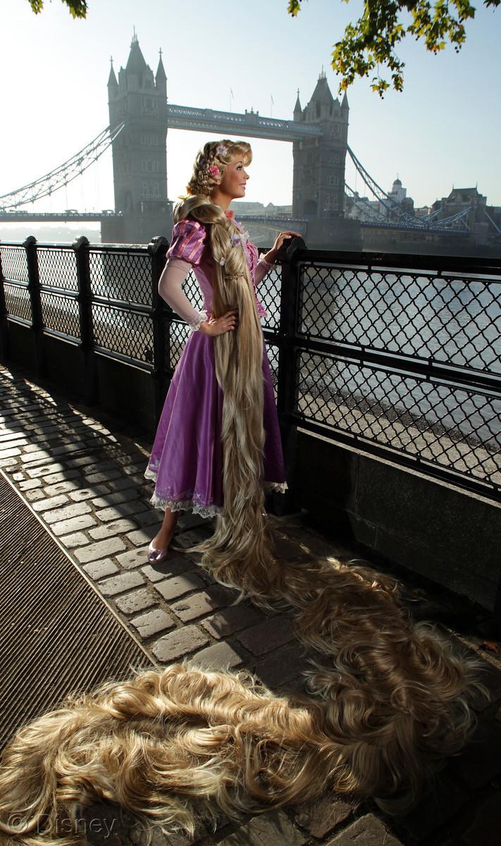 Rapunzel in London