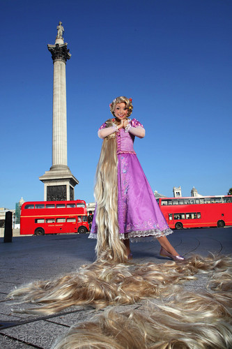 Rapunzel in London