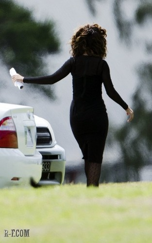 Rihanna - At a funeral in Barbados - October 08, 2011 - rihanna Photo