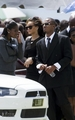 Rihanna - At a funeral in Barbados - October 08, 2011