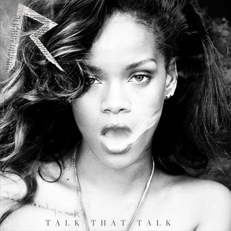 Rihanna's Talk That Talk deluxe edition album cover