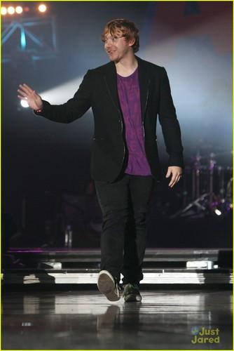 Rupert Grint: Best British Actor at Teen Awards!
