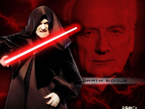 étoile, star WARS -Darth Sidious