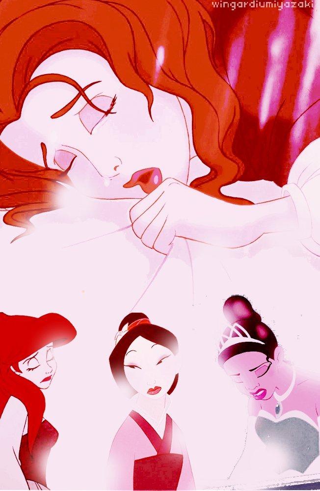 Disney Princess Sad Disney