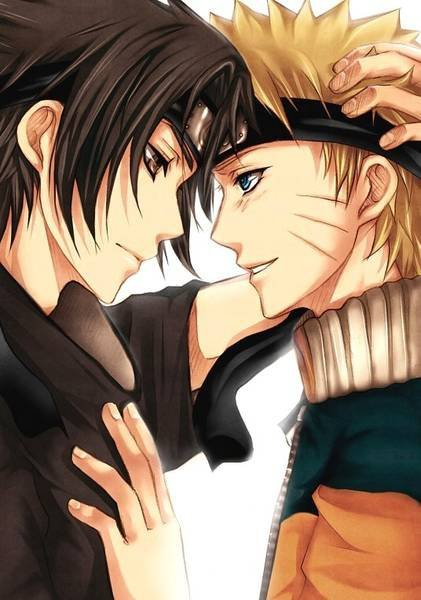 Yaoi images Sasuke and Naruto wallpaper and background photos ...: http://www.fanpop.com/clubs/yaoi/images/25902351/title/sasuke-naruto-photo