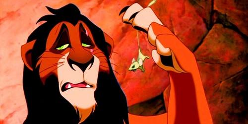 The Lion King kertas dinding entitled Scar