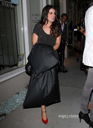 Shenae Grimes: Monika Chiang Store Opening in West Hollywood, Oct 10