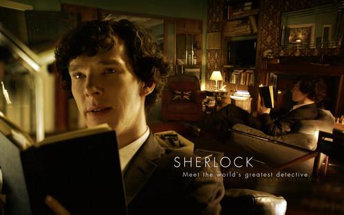 Sherlock in der BBC Hintergrund containing a brasserie entitled Sherlock