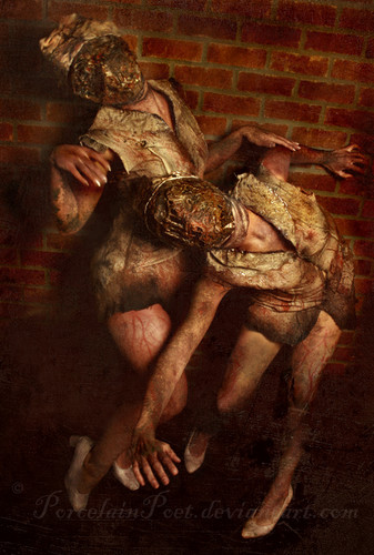 Silent Hill wallpaper probably containing an alligator snapping turtle titled Silent Hill Nurse