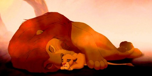 Lion King Simba And Mufasa Wallpaper